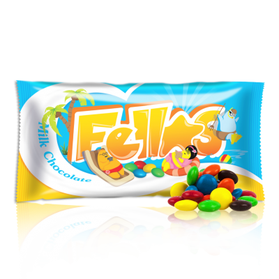 Henk Milk chocolate Fellas 100g